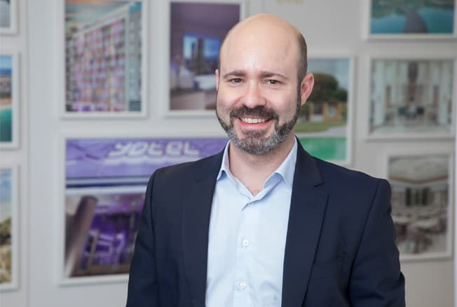 Nuno Godinho, Hotel Manager do YOTEL Porto