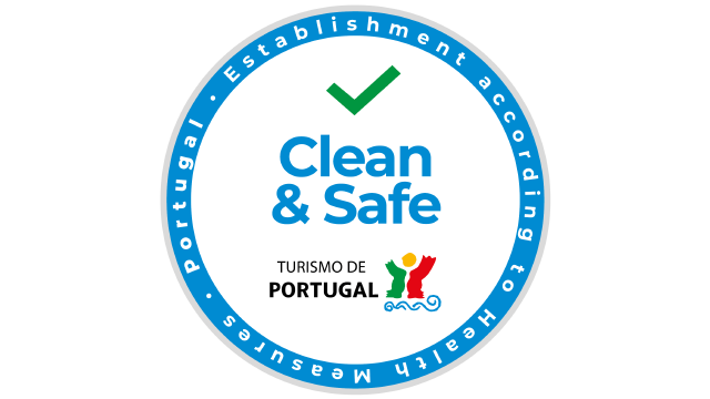 Clean and Safe logo Turismo de Portugal